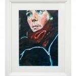 14. portrait, acrylic on paper