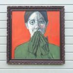 16. portrait, oil on canvas